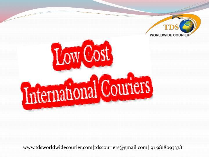 www.tdsworldwidecourier.com|tdscouriers@gmail.com| 91 9818093378