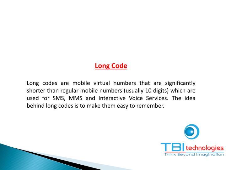 Long Code