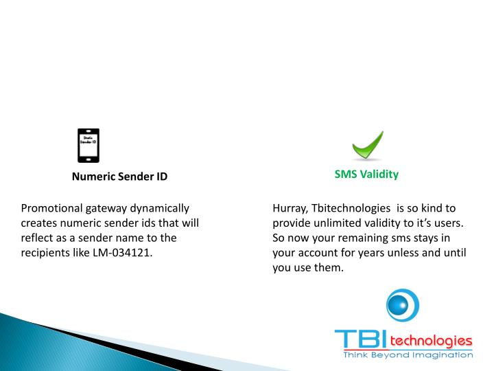 SMS Validity