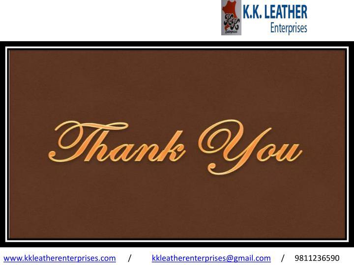 www.kkleatherenterprises.com