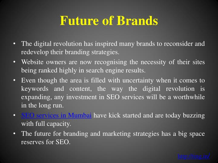 Future of Brands
