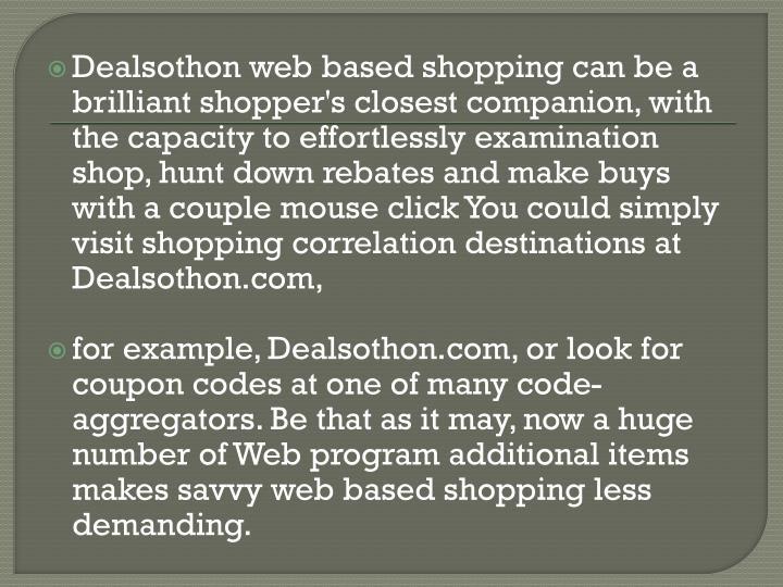 Dealsothon