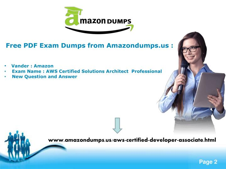 Free PDF Exam Dumps from Amazondumps.us :