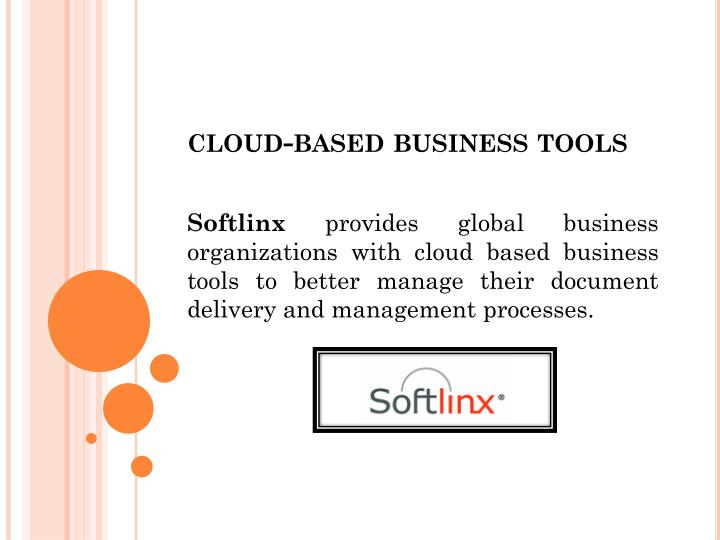 cloud based business tools