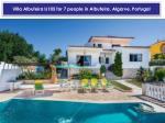villa albufeira ls105 for 7 people in albufeira algarve portugal