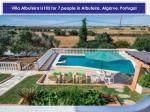 villa albufeira ls105 for 7 people in albufeira algarve portugal1