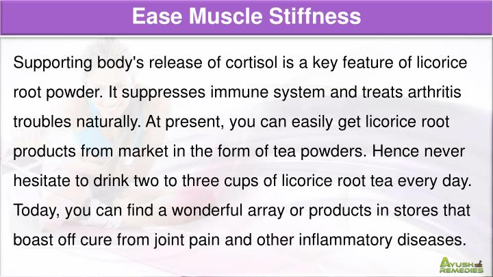 Ease Muscle Stiffness
