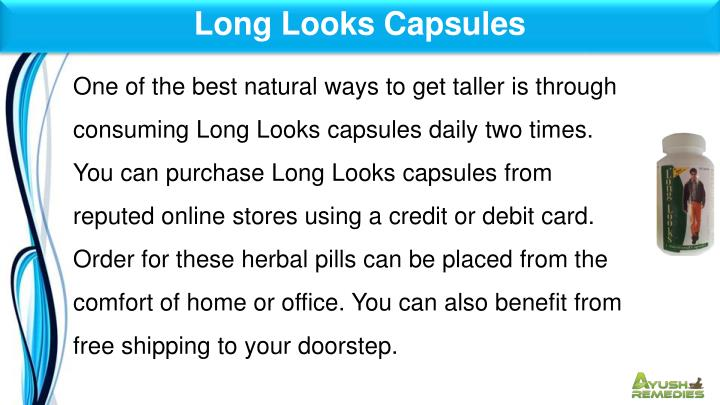 Long Looks Capsules