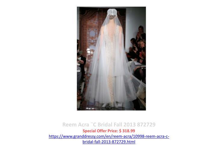 Reem Acra ¨C Bridal Fall 2013 872729