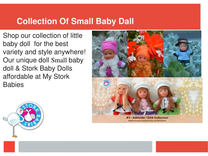 Collection Of Small Baby Dall
