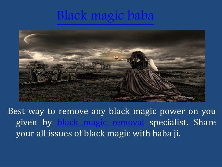 Black magicbaba