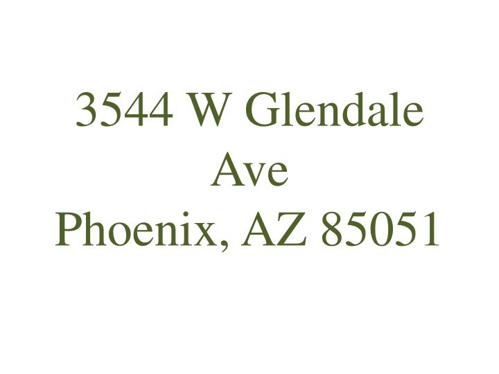 3544 W Glendale Ave