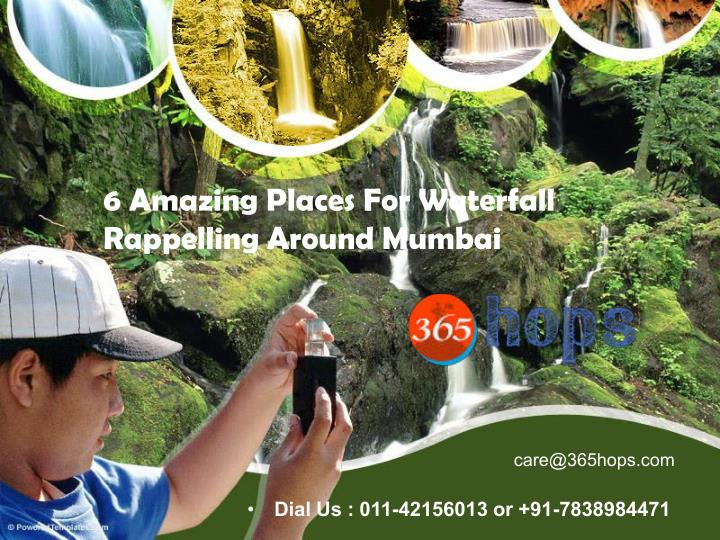 6 Amazing Places For Waterfall