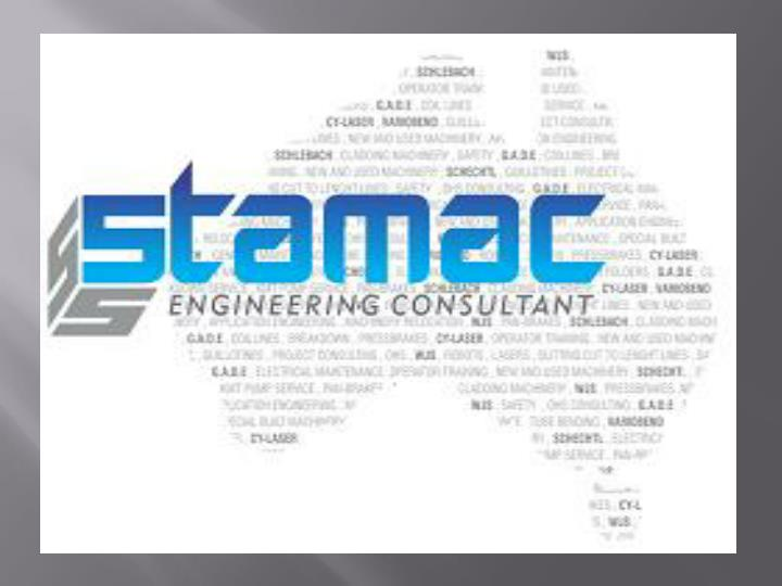 Stamac maintaining industrial equipments 7448625