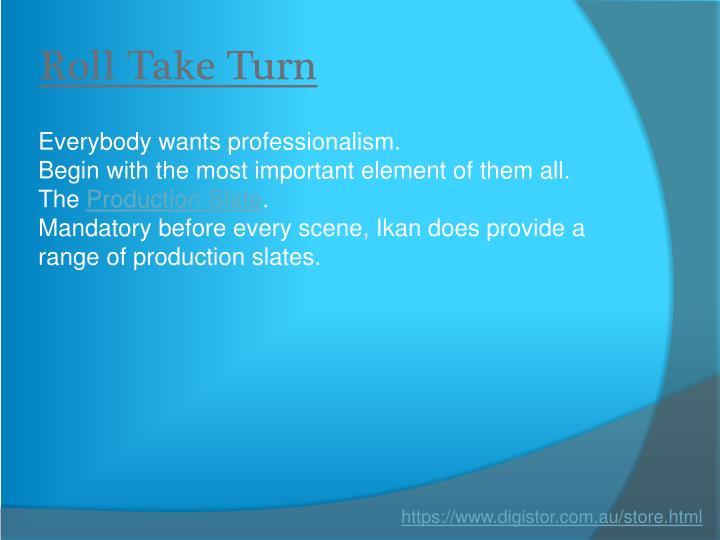 Roll Take Turn