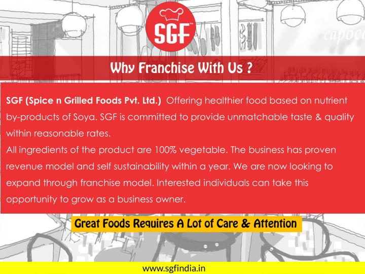 Why Franchise With Us ?