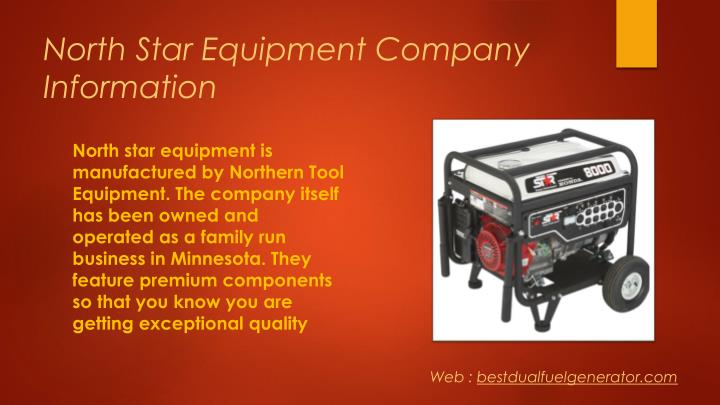 North star equipment company information