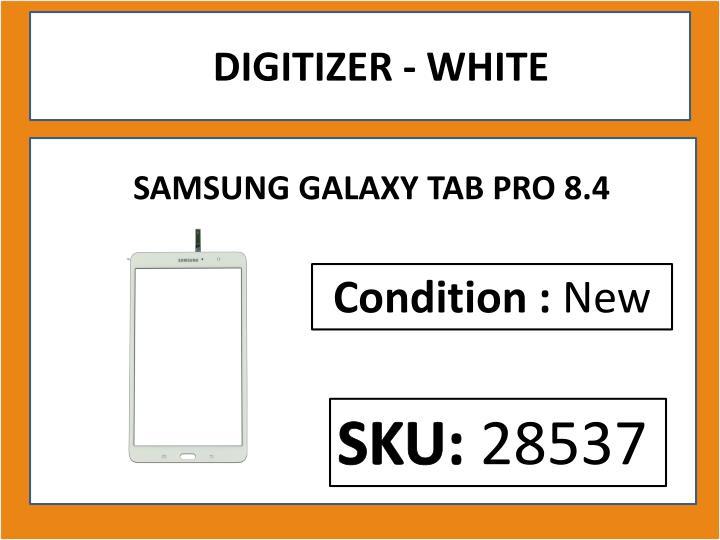 DIGITIZER - WHITE