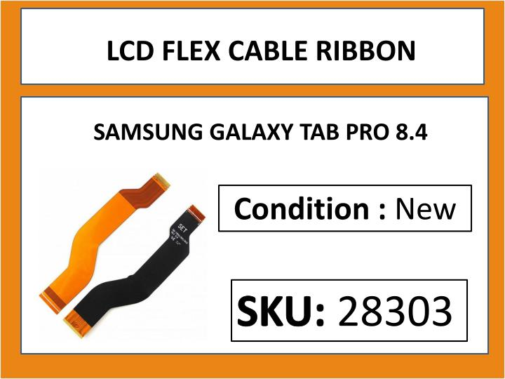 LCD FLEX CABLE RIBBON
