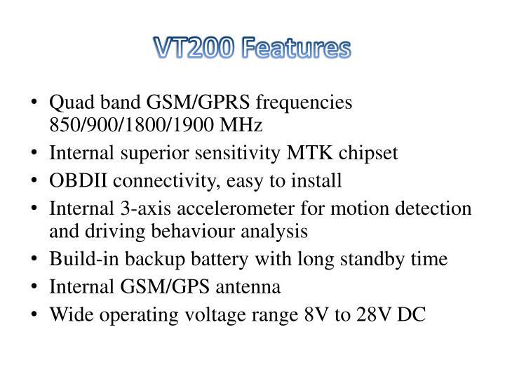 VT200 Features
