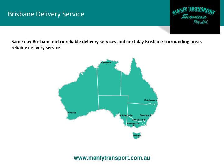 Brisbane Delivery Service