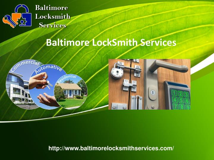 Baltimore locksmith services