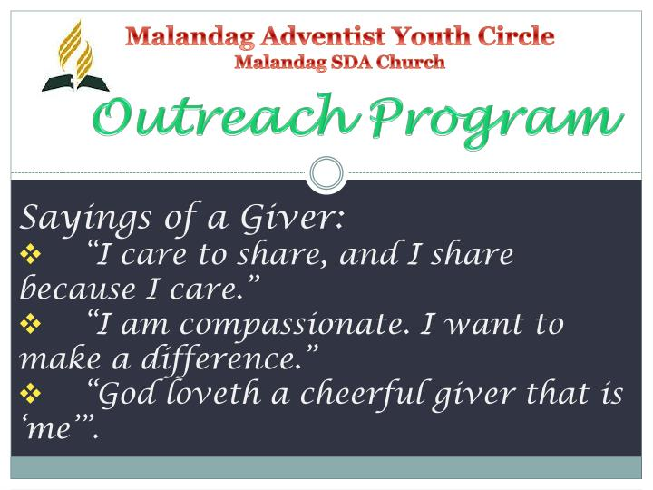 Malandag adventist youth circle malandag sda church2
