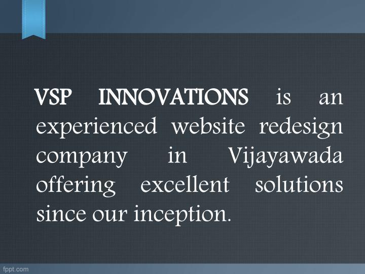 VSP INNOVATIONS