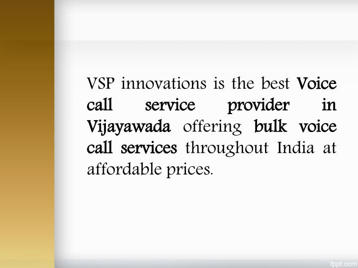 VSP innovations is the best