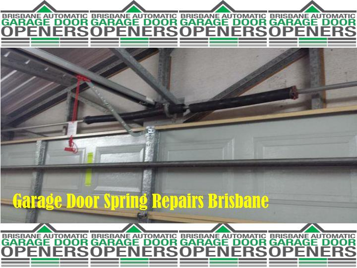 Garage Door Spring Repairs Brisbane
