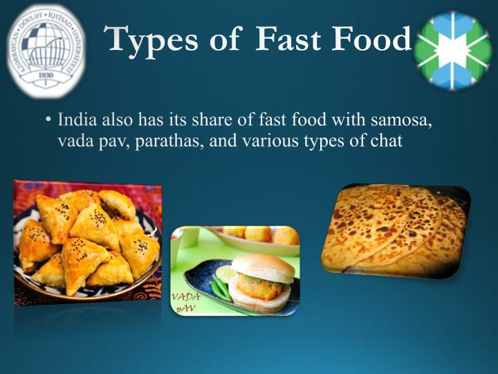 Types of Fast Food