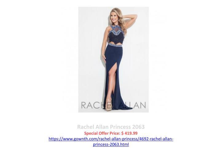 Rachel Allan Princess 2063