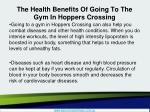 the health benefits of going to the gym in hoppers crossing3