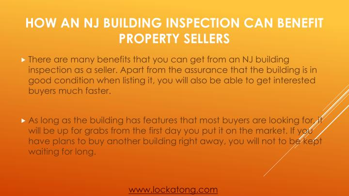 How an nj building inspection can benefit property sellers2