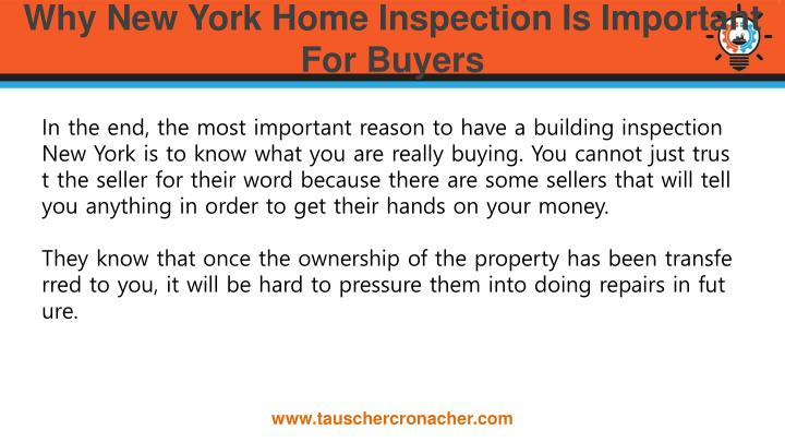 Why New York Home Inspection Is Important For Buyers