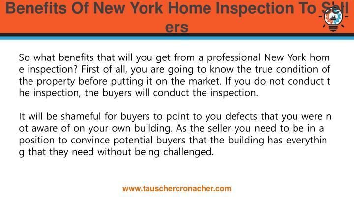 Benefits of new york home inspection to sellers1