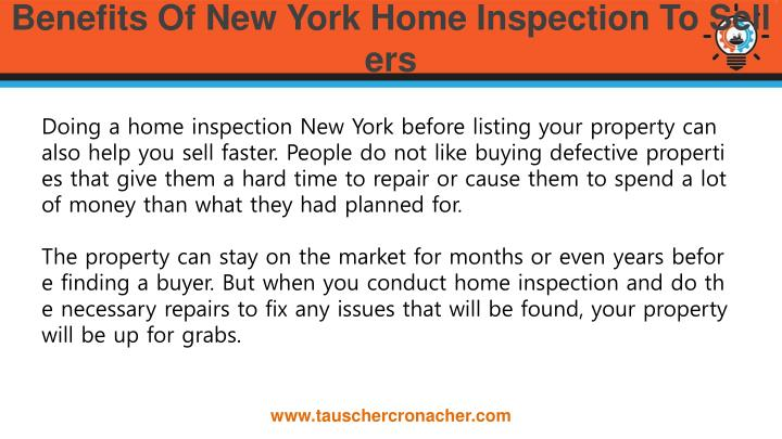 Benefits Of New York Home Inspection To Sellers
