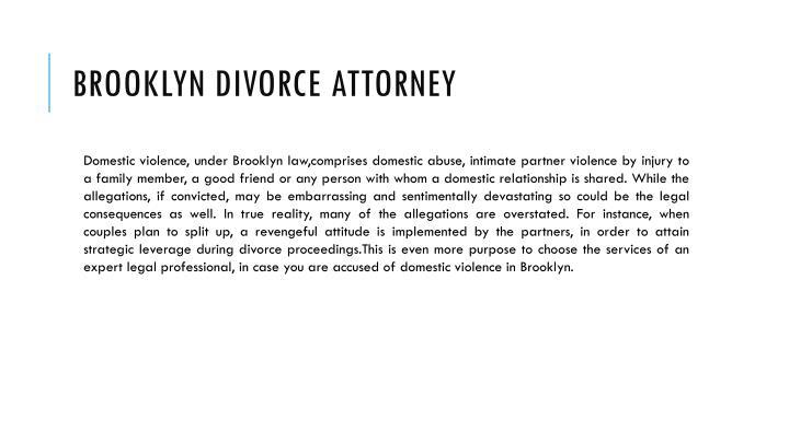 Brooklyn Divorce Attorney