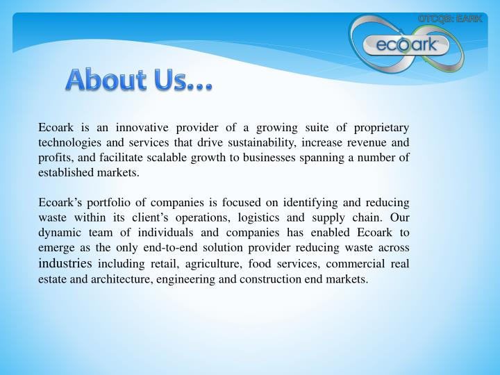 About Us…
