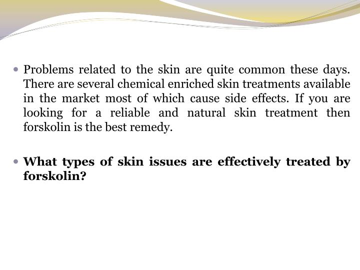 Problems related to the skin are quite common these days. There are several chemical enriched skin t...
