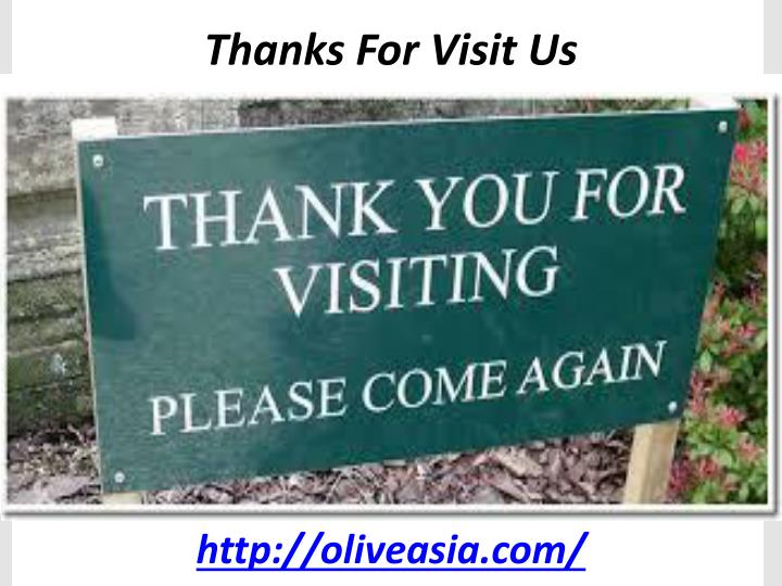 Thanks For Visit Us