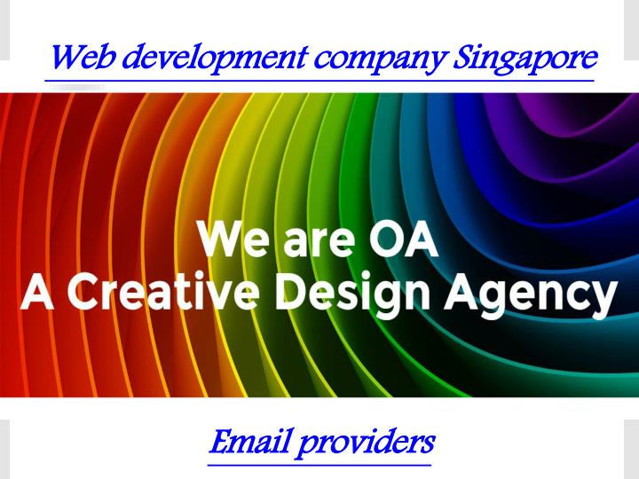Web development company singapore