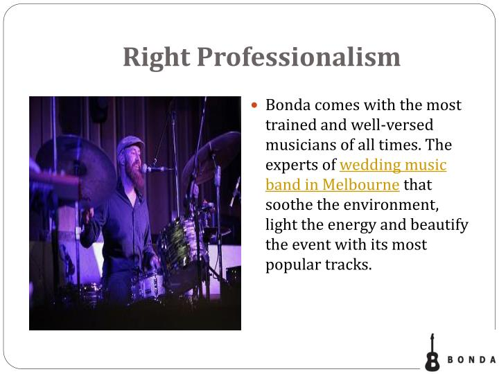 Right Professionalism