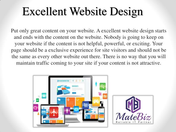 Excellent Website Design
