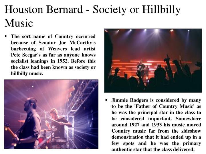 Houston Bernard - S