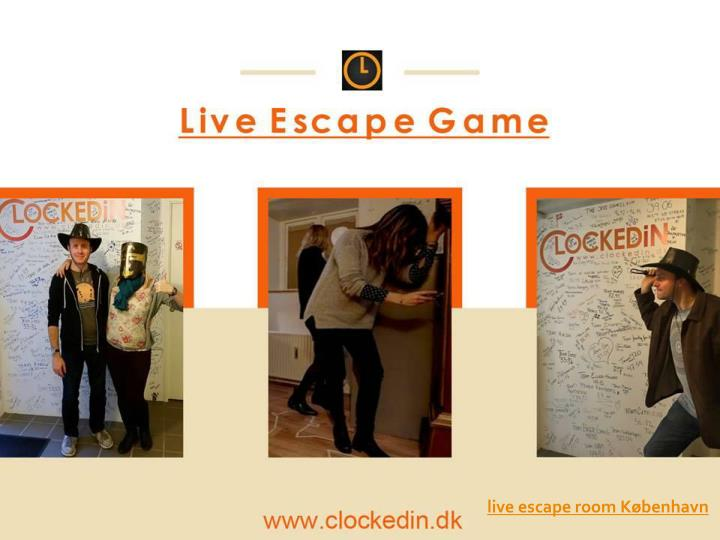 live escape room