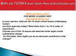 bshs 442 tutor future starts here bshs442tutor com17