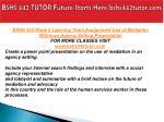 bshs 442 tutor future starts here bshs442tutor com19
