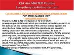 cja 464 master possible everything cja464master com8