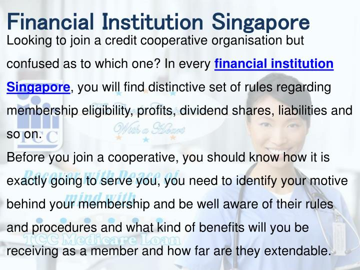 Financial Institution Singapore